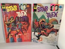 1974 Star Trek Comics #26 & 27 - Approx Very Good to Fine Condition