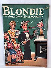 Blondie Feature Books #47 - Eaten Out of House and Home (1946, David McKay Pub) - Approx Very Good to Fine