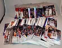 Box of Newer Basketball Singles