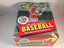 1980 Topps Baseball Empty Box