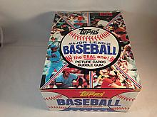 1981 Topps Baseball Empty Box
