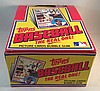 1983 Topps Baseball Empty Box