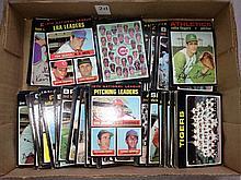 1971 Topps Baseball Lot of 168 Cards