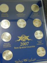 2007 State Quarter Collection ($250.00 Face Value)