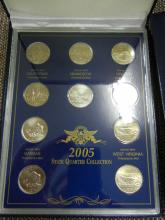 2005  State Quarter Collection ($250.00 Face Value)