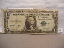 1935 G Silver Certificate with Motto.  Very Scarce.