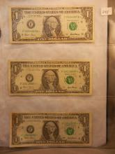 3-2001 Federal Reserve Star Notes