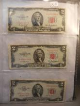 3-1953-A Two Dollar Red Seal United States Note