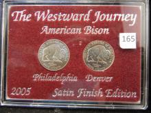 2005 Westward Journey Nickels Satin Finish American Bison