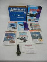 Aircraft of the World  Guide Set /Notebook
