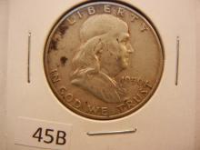 1950 - D Franklin Half Dollar