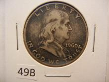 1960-D Franklin Half Dollar