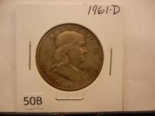 1961-D Franklin Half Dollar