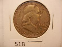 1962-D Franklin Half Dollar