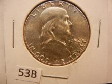 1952 Franklin Half Dollar