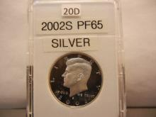 2002-S Proof 65 Silver Kennedy Half Dollar