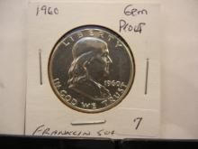 1960 Franklin Half Gem Proof