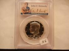 1976-S Kennedy Half Slabbed PR69 Deep Cameo by PCGS Special Kennedy Signature Holder
