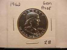 1962 Franklin Half GEM Proof