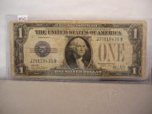 1928 Funny Back One Dollar Silver Certificate