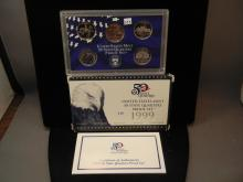 1991 United States Mint 50 State Quarter Proof Set