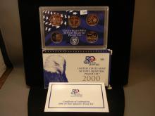 2000 United States Mint 50 State Quarters Proof Set
