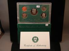 1998-S United States Mint Proof Set