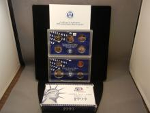 1999 50 State Quarters United States Proof Set