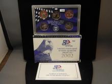 2002 50 State Quarters United States Proof Set