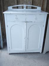 Antique Painted Dresser/Changing Table 4 Drawers behind door - Shipping Not Available for this Item Pick up Only!