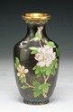 A Chinese Antique Cloisonne Black Bronzed Vase