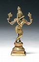 A Vintage Asian Bronze Shiva
