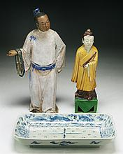 Three (3) Chinese & Japanese Porcelain Items