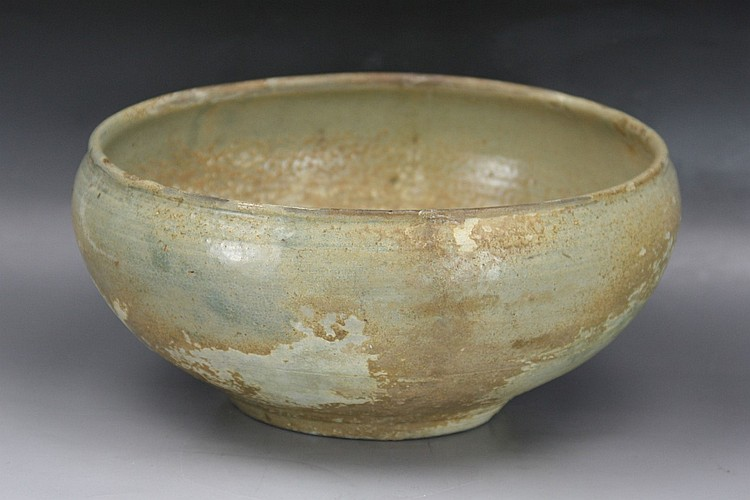 Early Korean Yi-Style Porcelain Bowl