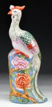 A Chinese Antique Famille Rose Porcelain Phoenix