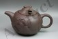 Chinese Zisha Teapot With Moveable Dragon Minguo