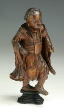 A Chinese Antique Wood Carved Figure