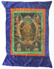 A Chinese Antique Thangka
