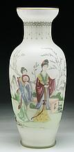A Chinese Antique Peking Glass Vase