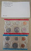 1971 US Proof Mint Set in Original Envelope