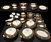 Wedgwood Florentine Green and Gold Service - 119 Pieces
