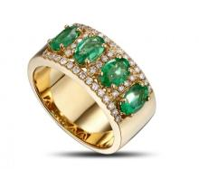 18k Yellow Gold 1.70ct Diamond Ring