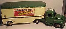 Buddy L Pressed Steel Baby Ruth/Butterfinger Tractor and Trailer