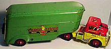 Wyandotte Cargo Lines Motor Fleet Transport Truck and Trailer