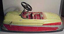Large Marx Ride-On Pressed Steel Electric Car