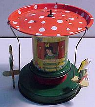 Tin Lithograph Carnival Toy Made in Western Germany