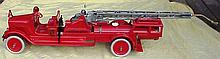Rare Restored Early Buddy L Fire Pumper