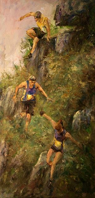 Vittorio Cirefice Donard Hill Race Oil 101.6 x