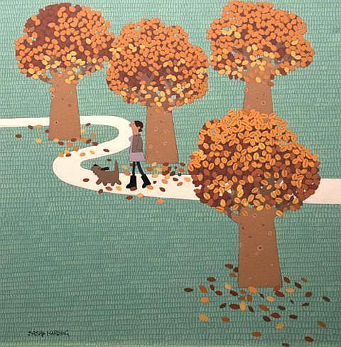Sasha Harding Autumn, 2008 Oil on canvas 49.5 x