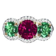 Emerald and Ruby Trio